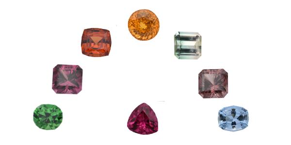 Precision cut gemstones(2)